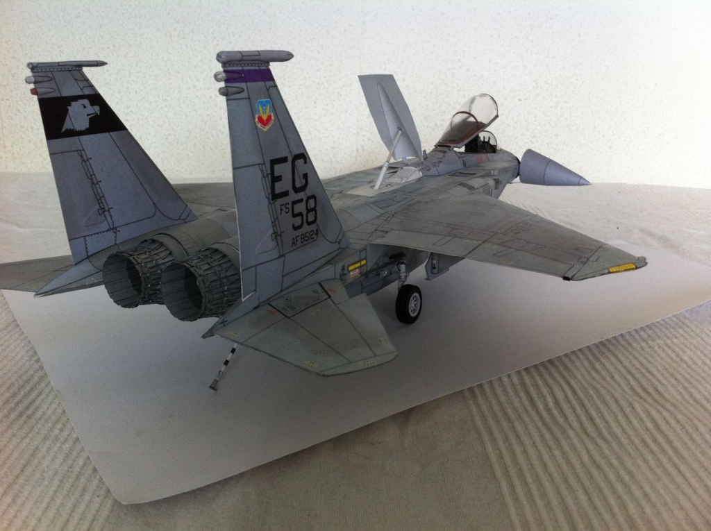 card modeling faq f 15 c eagle paper card model 1 33 scale
